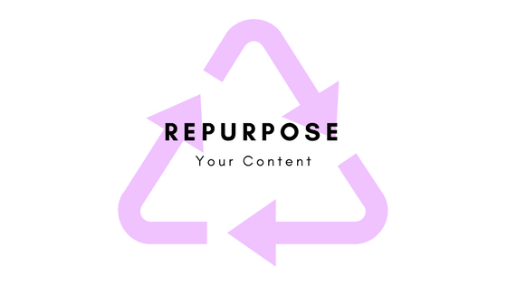 Repurpose 2 SEO411 Making Multiple Uses Out of Your One Content Idea