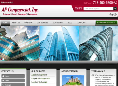 AP Commercial Inc SEO411 Portfolio SEO411 AP Commercial Inc