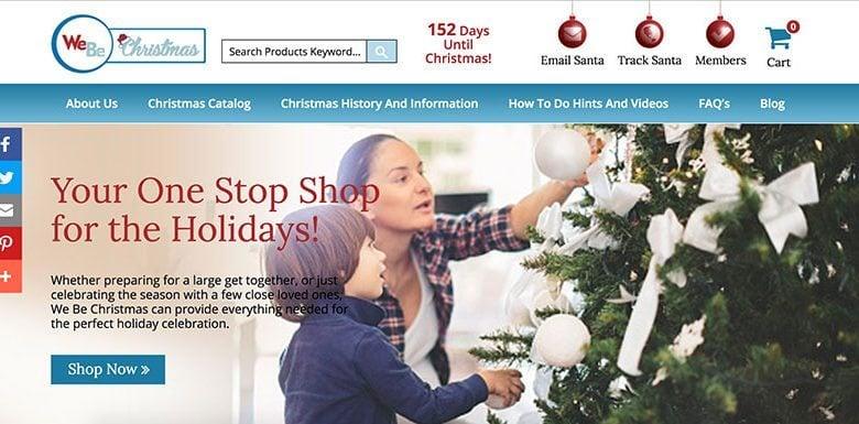 WeBe Christmas SEO411 Portfolio SEO411 WeBeChristmas