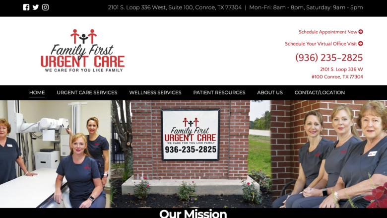 PastedGraphic 6 SEO411 Family First Urgent Care Conroe