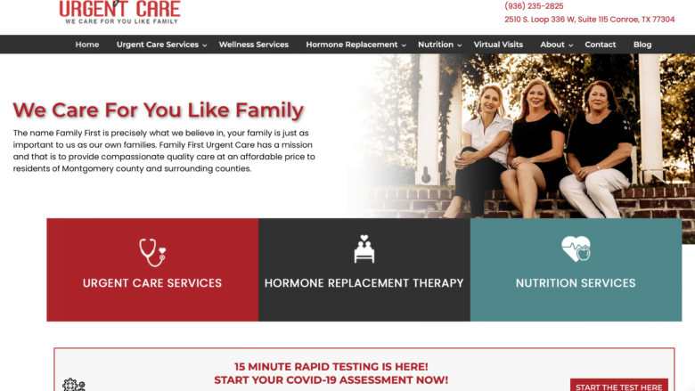 PastedGraphic 2 SEO411 Family First Urgent Care Conroe