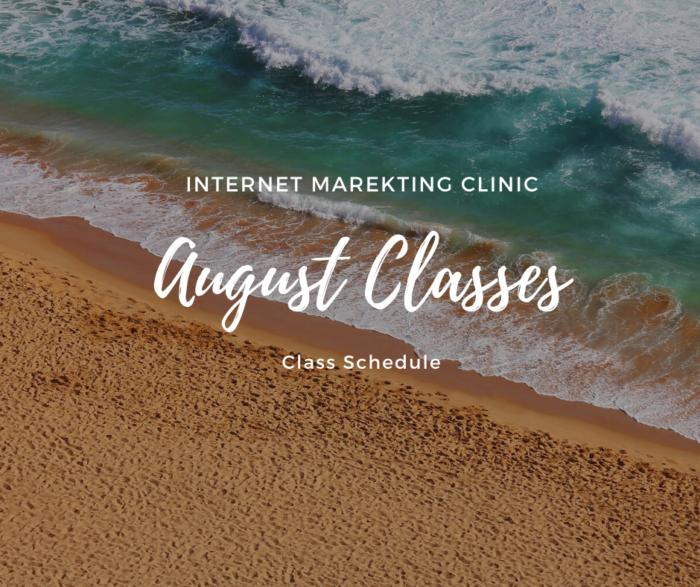 august class e1596403370135 SEO411 SEO411 Class Schedule August 2020