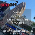 Ep123 SEO411 SEO Content Strategy : Dissecting the Process